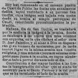 Fiestas de San Onofre junio de 1903